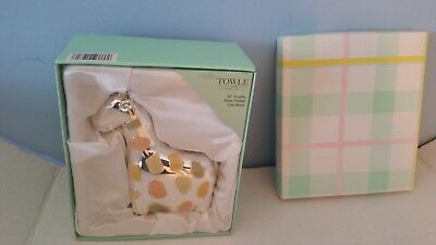 Towle Silversmiths Lil Giraffe Silver Plated Coin Bank