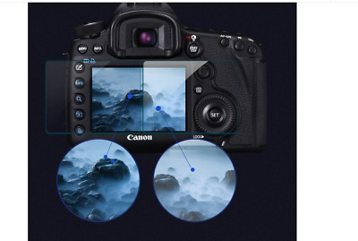 Tempered Glass Screen Protector for Canon EOS Rebel T7 EOS 2000D camera