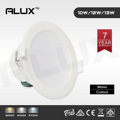 10W 12W 13W IP44 LED Downlight Dim/Non-Dim Ceiling 90mm Cutout 3000K 4000K 5700K