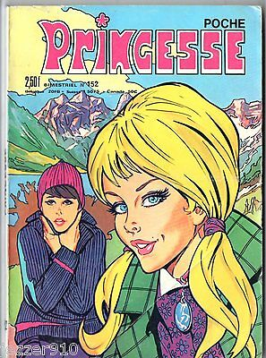 ~+~ PRINCESSE POCHE n°152 ~+~ 1977 EDITIONS DE L'OCCIDENT