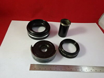 For Parts Microscope Accessories Leitz Nikon Olympus Etc As Pictured &94-56
