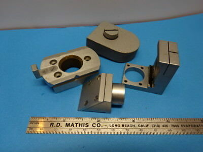 LOT OF ACCESSORIES for MICROSCOPE PARTS AS IS &90-A-18