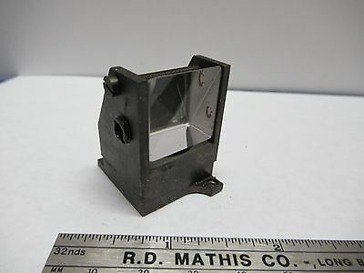 Antique Vintage Bausch Lomb Mounted Prism Microscope Optics As Pictured &85-73