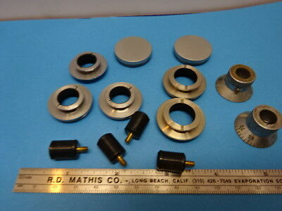 LOT OF ACCESSORIES for MICROSCOPE PARTS AS IS &90-A-20