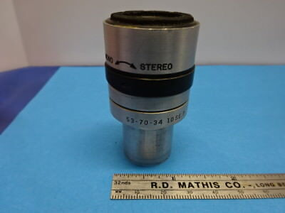 Bausch Lomb Eyepiece Ocular Stereo 537034 Optics Microscope Parts As Is &90-A-25
