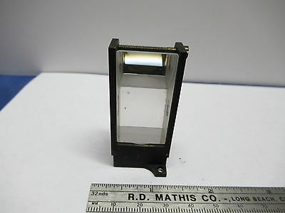 Antique Vintage Bausch Lomb Mounted Prism Microscope Optics As Pictured &85-75