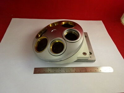 Leica Dmr Nosepiece Six Objective Positions Microscope Part Optics As Is H9-A-04
