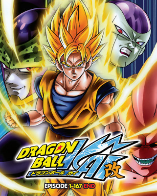 DVD Dragon Ball Kai Episode 1 - 167 END..English Dubbed Dual Audio All Region