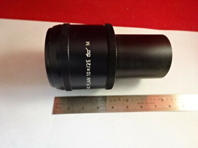 Leica Dmr Eyepiece 507800 Hc Plan 10X/25 Ocular Microscope Part As Is &27-A-01