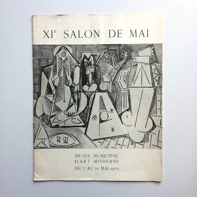 Catalogue XIe SALON DE MAI. Musée Municipal d'Art Moderne 1955.