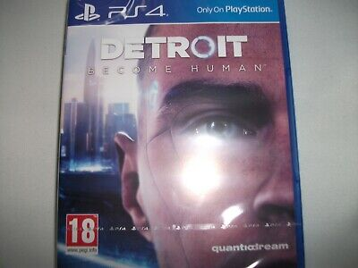 Detriot Become Human Playstation PS4 Game New & Sealed