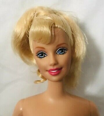 Blonde Barbie Doll With Pull string