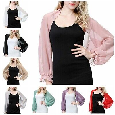 Women Sheer Chiffon Kimono Bikini Cover-up Summer Cardigan Swimwear Beach Blouse
