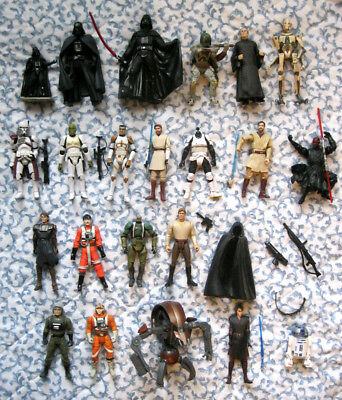 STAR WARS Vintage Darth Modern Vader Accessories 3.75 Inch Action Figure LOT A