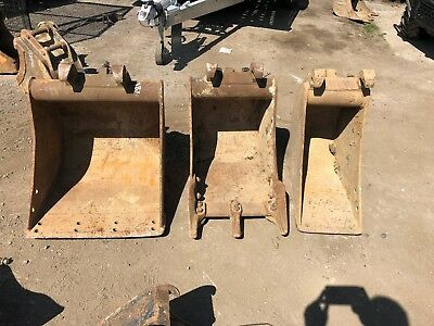"3x Klac E system buckets 2ft 18"" 9"" Digger digging buckets suit Kubota?"