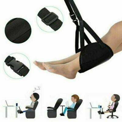 Comfy Hanger Travel Airplane Footrest Hammock Made with Premium Memory Foot Foam