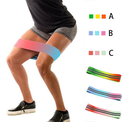 Hip Resistance Circle Band Sports Gym Booty Squat Glute Peach Yoga Fitness Strap