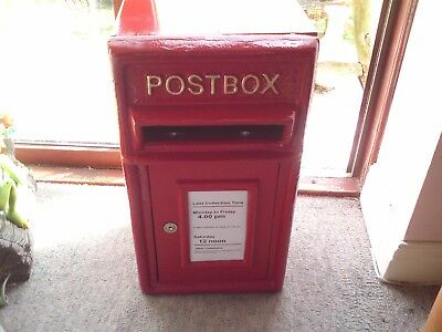 Vintage Style Replica  Mail Post Box , With 2 Keys,