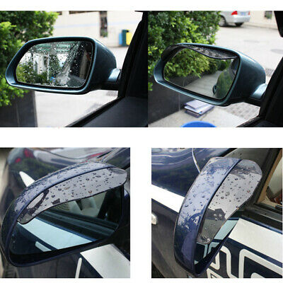 A Pair Car Auto Accessory Rear View Mirrors Rain Protector Stop Universal US