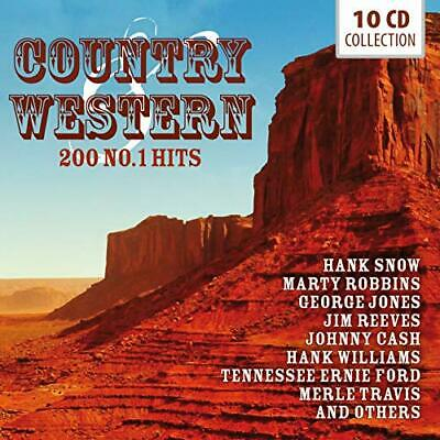 Country and Western - 200 No.1 Hits [CD]