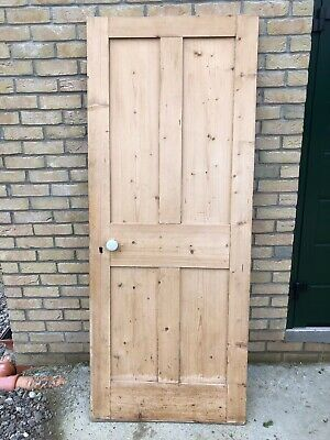 Antique Victorian Stripped Pine Doors