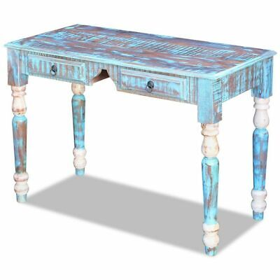 Shabby Chic Writing Table Vintage Rustic Computer Desk Antique Wooden Furniture