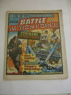BATTLE ACTION FORCE 2nd February 1985
