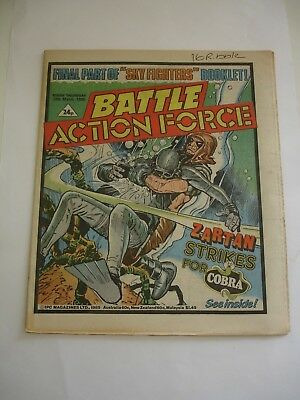 BATTLE ACTION FORCE 30th March 1985
