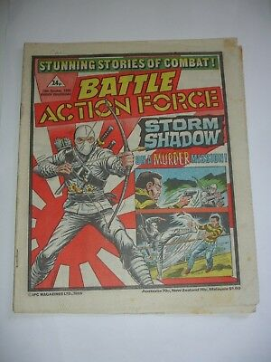 BATTLE ACTION FORCE  19th October 1985*