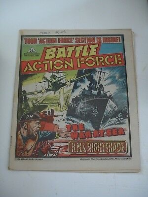 BATTLE ACTION FORCE  26th October 1985
