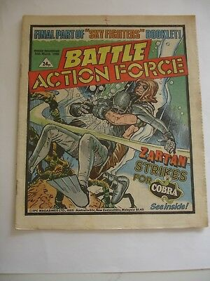 BATTLE ACTION FORCE 30th March 1985*