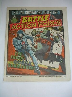 BATTLE ACTION FORCE  7th  December 1985