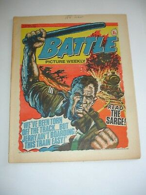 BATTLE PICTURE WEEKLY  comic 15th October 1977*