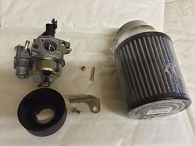 Honda GX160 GX200 Intake Performance Upgrade Kit + Bored GX200 Carb Prokart Kart