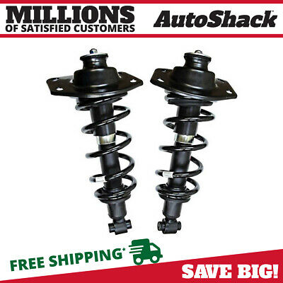 Rear Pair (2) Complete Strut Assembly w/Coil Springs Fits 2010 Chevrolet Camaro