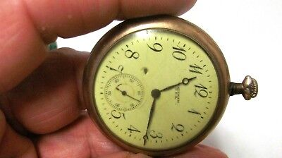 Vintage 1924  Waltham Pocket Watch, GOLD Filled, 20 year Guarantee case  Nice