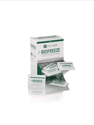 6 NEW BIOFREEZE 3 GRAM  PACKETS PAIN RELIEVING TRAVEL PACKET Therapy Gel