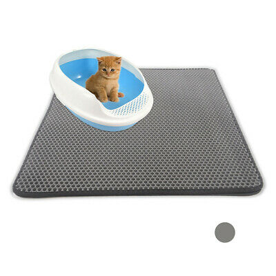 Wholesale Double-Layer Cat Litter Mat Trapper Foldable Pad Pet Rug EVA Foam