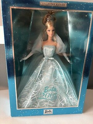 Mattel - Barbie Doll - 2001 Barbie Doll Blue Dress Collector Edition. New in box