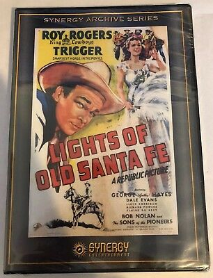 LIGHTS OF OLD SANTA FE BRAND NEW SEALED DVD Roy Rogers Synergy Archive Series