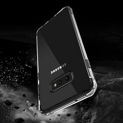 TPU Crystal clear 360°Soft Ultra thin Case Cover Samsung Galaxy S10 Plus S9 S8 +