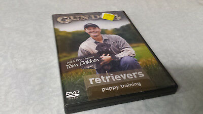 Gun Dog: Retrievers - Puppy Training (DVD) Tom Dokken hunting waterfowl RARE