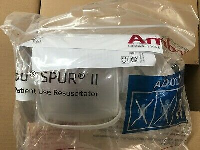 Ambu Adult Spur ll Resuscitator Bag REF 520211000 qty: 2