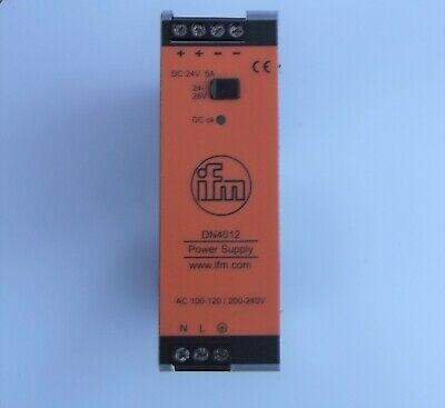 IFM Electronic DN4012 DC 5A Power Supply New & Boxed