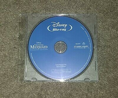 The Little Mermaid (Blu-ray, 2013 Diamond Edition) Blu Ray Disc Only Pre-owned
