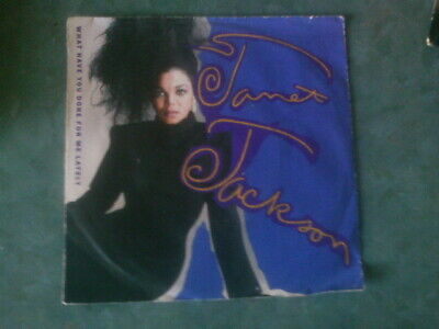 7 inch Single WHAT HAVE YOU DONE FOR ME, LATELY von JANET JACKSON (1986)   °34