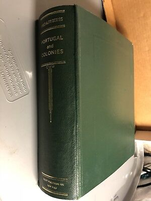 Vintage 1,944 Stamps Portugal & Colonies Specialty Series 1853 -1900'S Book Rare