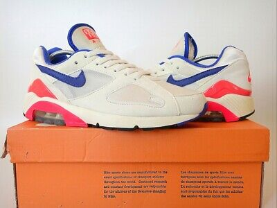 NIKE AIR MAX 180 OG EU41 UK7 US8 Vintage Tailwind Plus TN BW