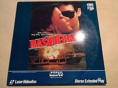 Masquerade (Laserdisc) Stereo Extended Play Rob Lowe, Kim Cattrall, Meg Tilly