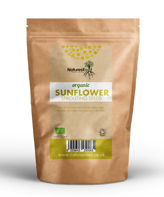 Natures Root Organic Sunflower Sprouting Seeds